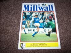 Millwall v Oldham Athletic, 1985/86